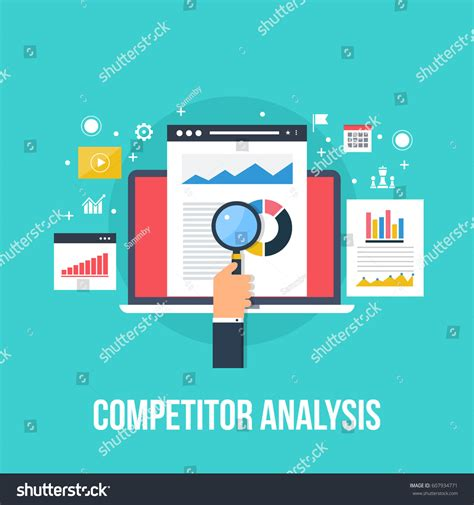 Competitor Data Analysis Market Research Strategy Stock