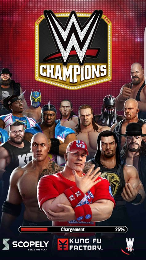 WWE Champions Android 16/20 (test, photos, vidéo)