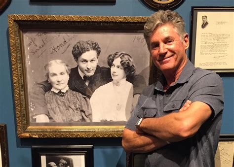 The family's secret is out: Harry Houdini's relatives live