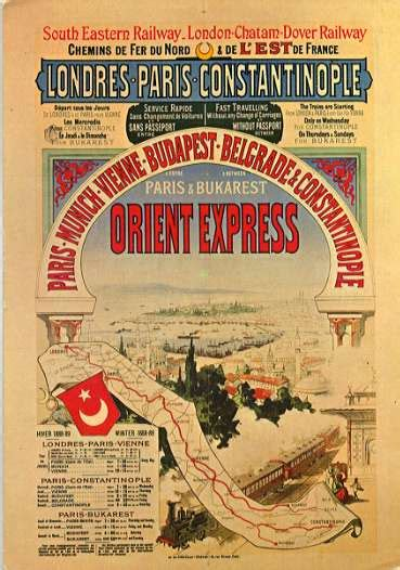 Travel Advisory: The Romance Of The Orient Express   Good