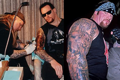 Paul Booth Tattooed the Undertaker With a Demonic Portrait