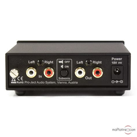 Pro-Ject Phono Box S2 phono preamplifier - maPlatine