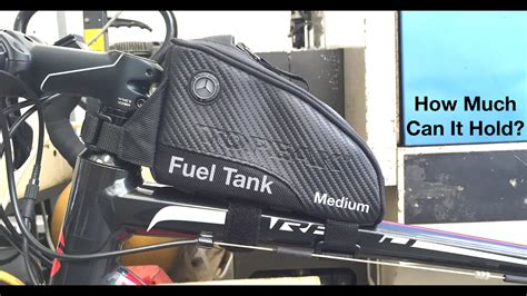 Topeak Fuel Tank Medium - How Much Can It Hold?? - YouTube