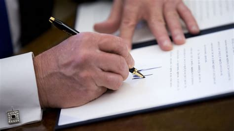 What do Donald Trump's executive orders about immigration