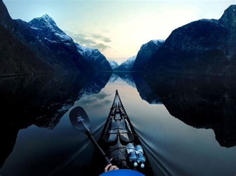 Norway's Breathtaking Fjords From A Polish Kayaker's