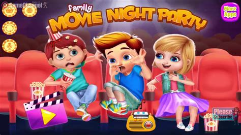 Family Movie Night Party - Casual Games - Videos Games for