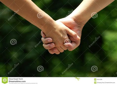 Hands Of Lovers Royalty Free Stock Images - Image: 4541289