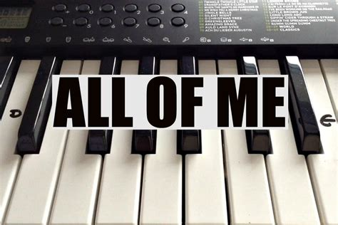 How To Play ALL OF ME- John Legend Intro on Piano - Easy