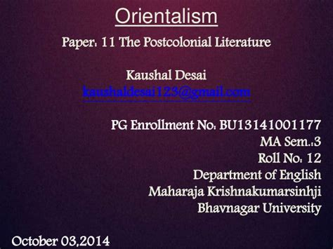 Need help do my essay introduction to orientalism by