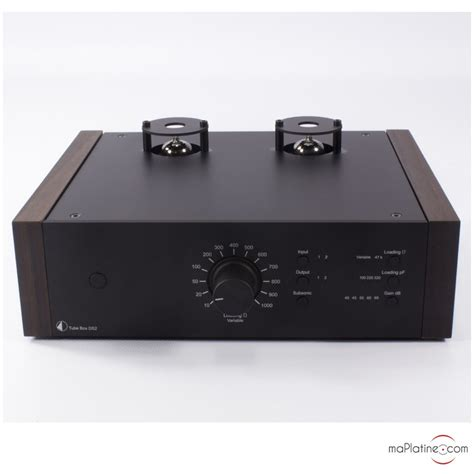 Pro-Ject Tube Box DS2 Phono Preamplifier - maPlatine