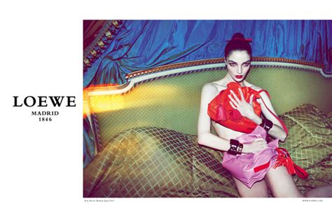 Loewe Fall 2011 Campaign Preview | Mariacarla Boscono by