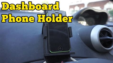 3D Printed Dashboard Phone Holder   Barb Makes Things #4