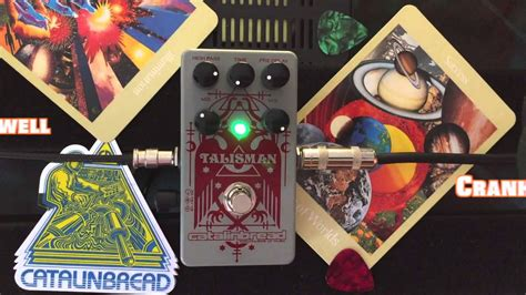 Talisman Plate Reverb into Cranked Marshall! - YouTube