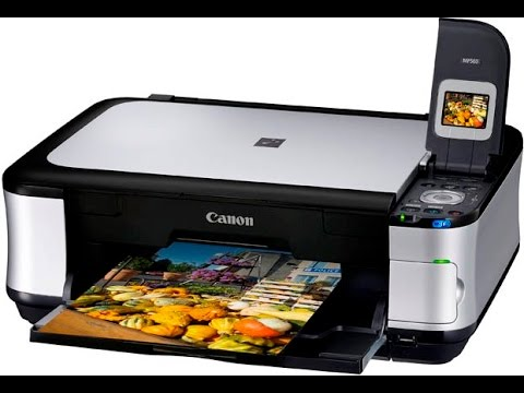 Canon Pixma MG5350: How to Change Ink Cartridges - YouTube