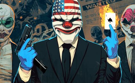 Payday 2: Crimewave Edition has a release date for PS4 and