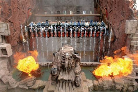 One of worlds best thrill rides - The Talocan in Germany's