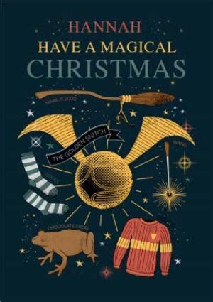 Harry Potter Christmas Card - Have a magical christmas