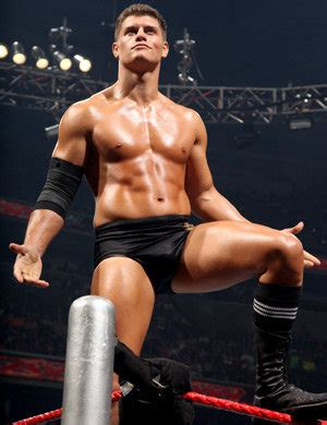 Just Too Hot to Handle?: WWE : Cody Rhodes Bulge!