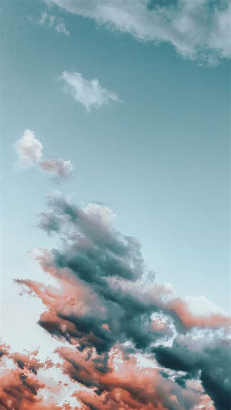 13 Fluffy Cloudy iPhone XR Wallpapers | Preppy Wallpapers