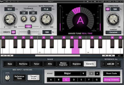Waves Audio releases Waves Tune Real-Time Plugin - KVR