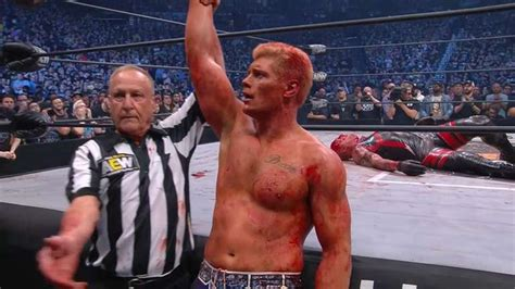 AEW Double or Nothing: Cody Rhodes Defeats Dustin Rhodes