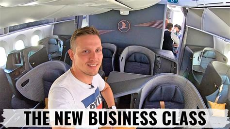 Review: TURKISH AIRLINES NEW 787 BUSINESS CLASS - ELEGANT