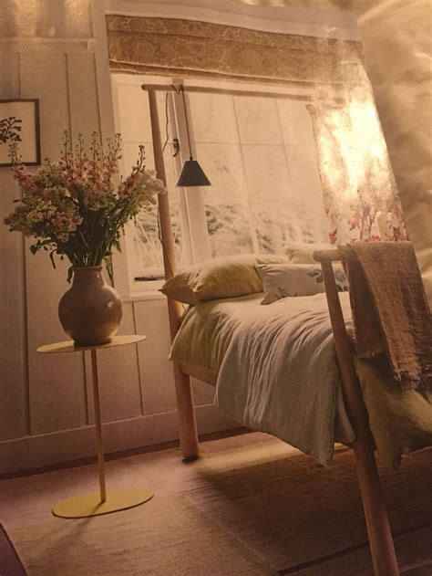 Lily side table SCP Gjora double bed ikea I like the blind