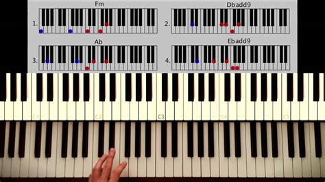 How to play: All of me - John Legend PART 1: Intro + Verse