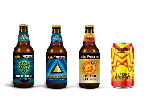Review: Pyramid Brewing Blazing Bright and Outburst
