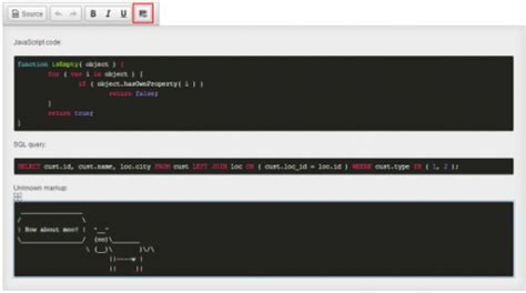 Code Snippet | CKEditor